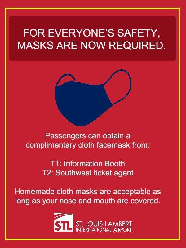 Masks are now required at STL