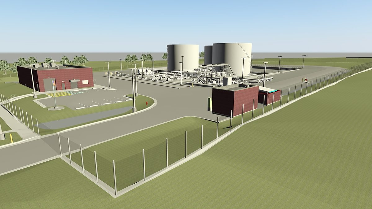 Stl Fuel Facility Burns Mc Donnell 3 D Rendering 1