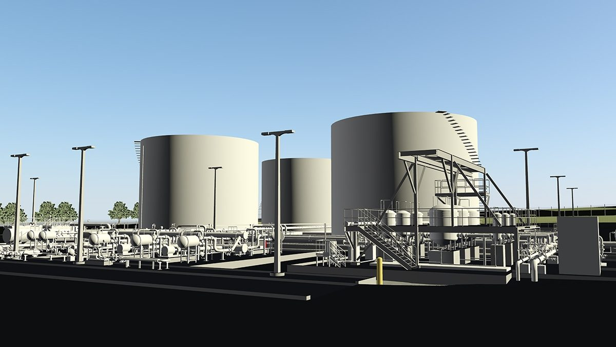 Stl Fuel Facility Burns Mc Donnell 3 D Rendering 2